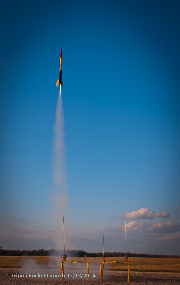 Tripoli rocket launch 12/2014